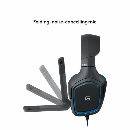 Logitech G430 Headset Side viewLogitech G430 Headset Side view