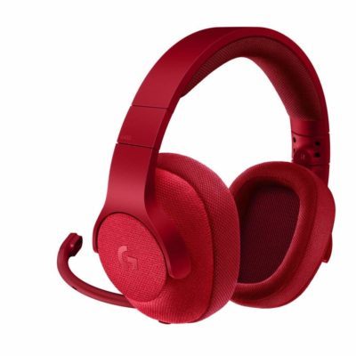 Logitech G433 Headphones Red