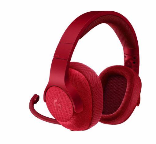Logitech G433 Headphones Red